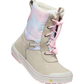 Keen Kelsa Tall WP Botas Niños, plaza taupe/pink blush